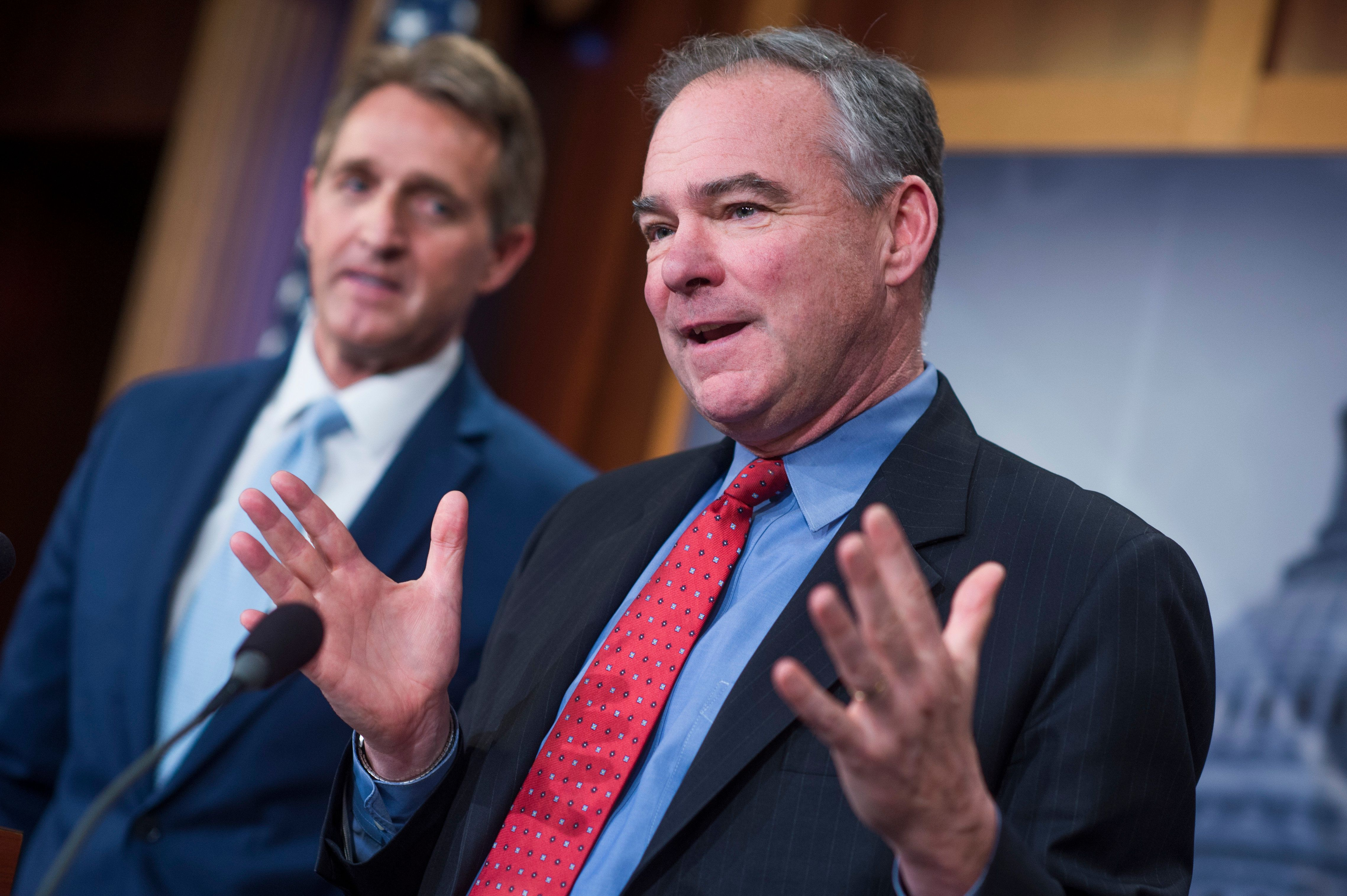 Tim Kaine Says Russia Probe Moving Into 'Potentially Treason' Territory