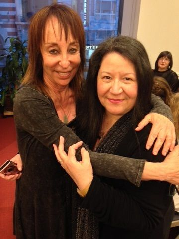 Dr. Judith Orloff and Rev. Laurie Sue Brockway at The Open Center in 2014