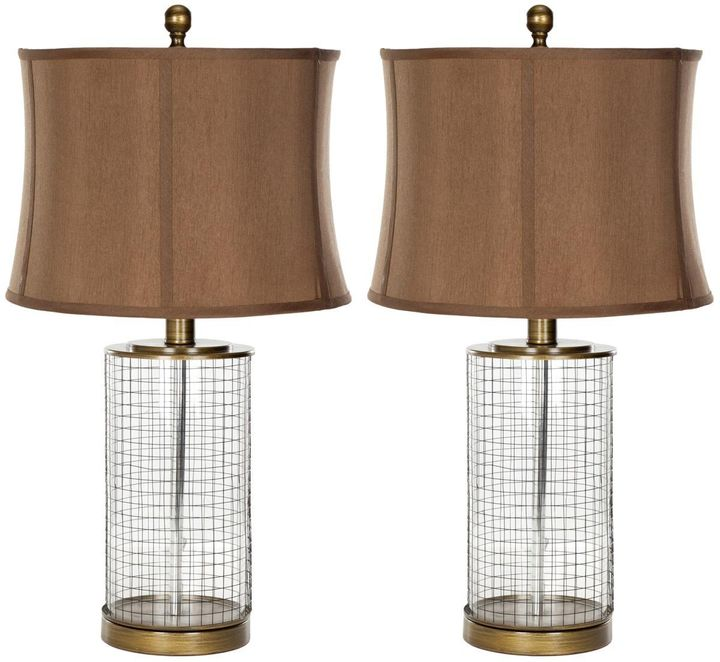 This set of Safavieh lamps is on sale for $127.78. Prime members can save an additional 20%.