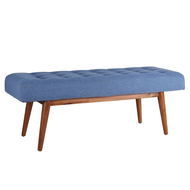 This Porthos Home Etheline side bench (in blue) is only $137.99 today. Prime members can save an additional 20%.