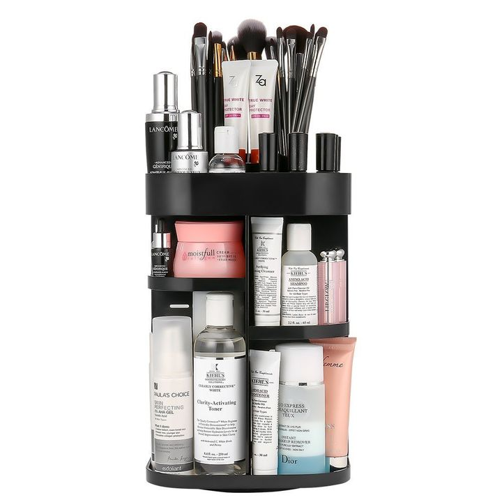 Save 58% when you order this Jerrybox Rotating Makeup Organizer today, and pay only $20.79.