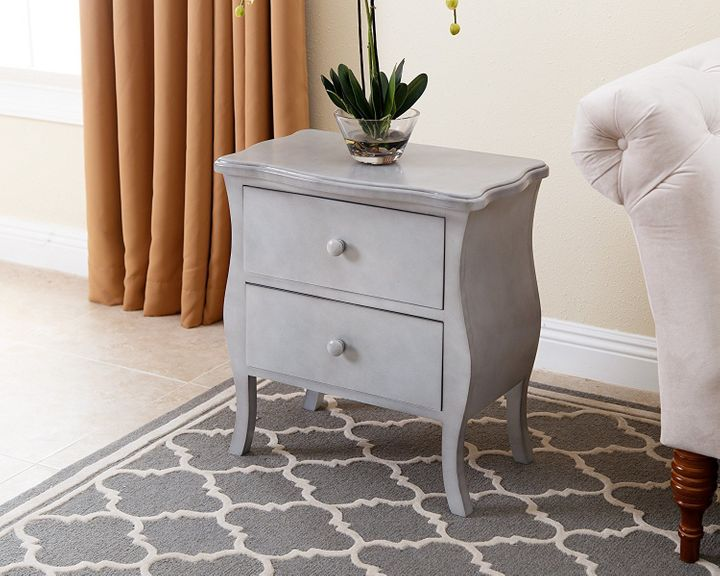 Save 34% when you buy this antiqued 2-drawer nightstand today. Save an additional 20% when you're a Prime member.