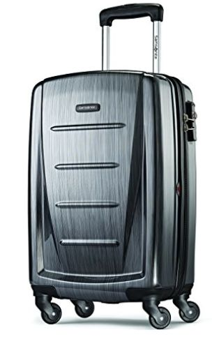 "At 20 inches long, this guy is overhead bin-worthy. Behold the <a href=""https://www.amazon.com/Samsonite-Luggage-Winfiel"