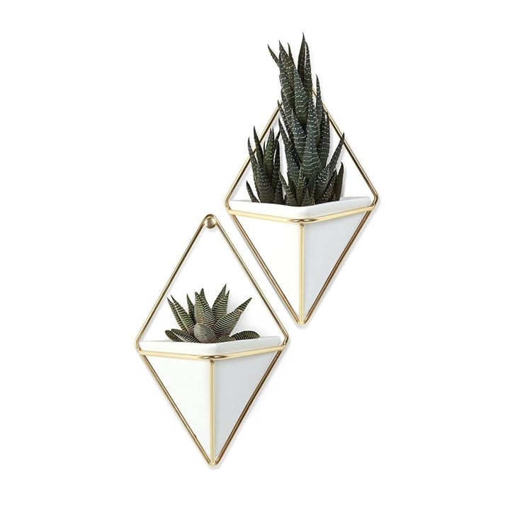 Prime members can save an additional 20% off of $24.99 on a set of two geometric wall hangers from Umbra.