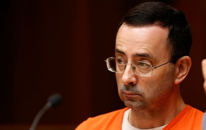 Nassar in court on June 23, 2017.