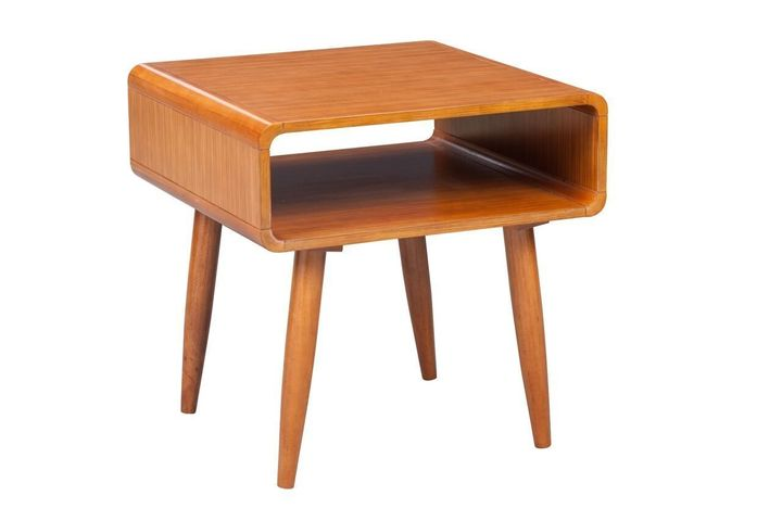 Prime members can save an additional 20% off this mid-century modern end table.