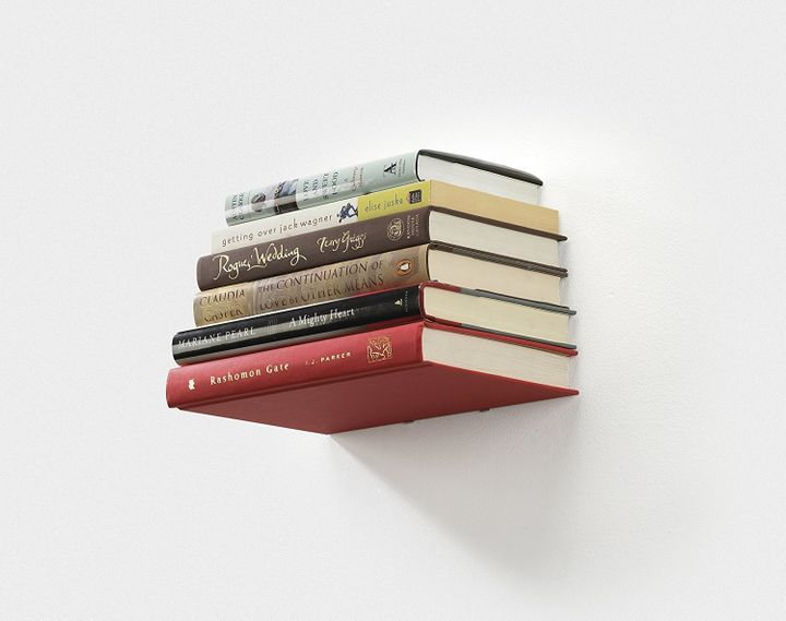 These floating bookshelves are on sale today for only $11.50 -- snag a few while they last!