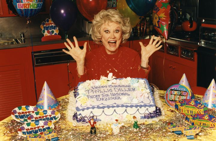 Phyllis Diller would've been 100 today.
