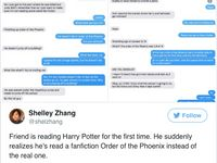 The Moment A 'Harry Potter' Fan Realizes He's Actually