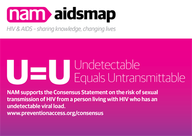 The Prevention Access Campaign is trying to educate on undetectable status in association with HIV/AIDS organizations around