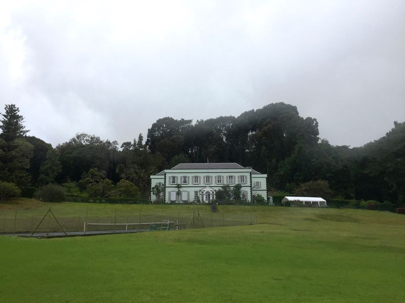 Plantation House is the Governor's residence on St. Helena.