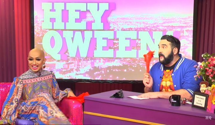 Ongina and Jonny McGovern on Hey Qween!