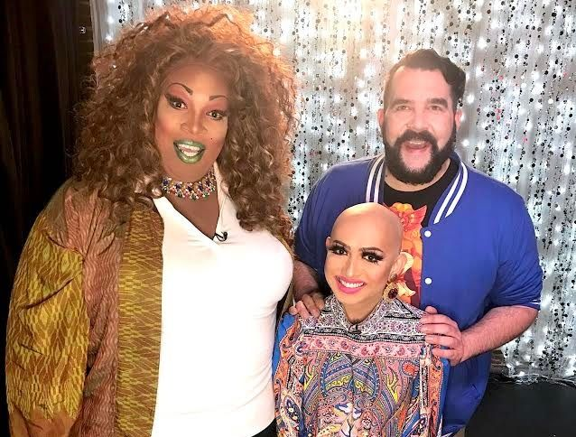 Lady Red Couture, Jonny McGovern and Ongina on Hey Qween