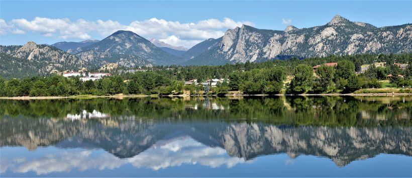 Lake Estes is one of many things named after the area's first known settler, Joel Estes.