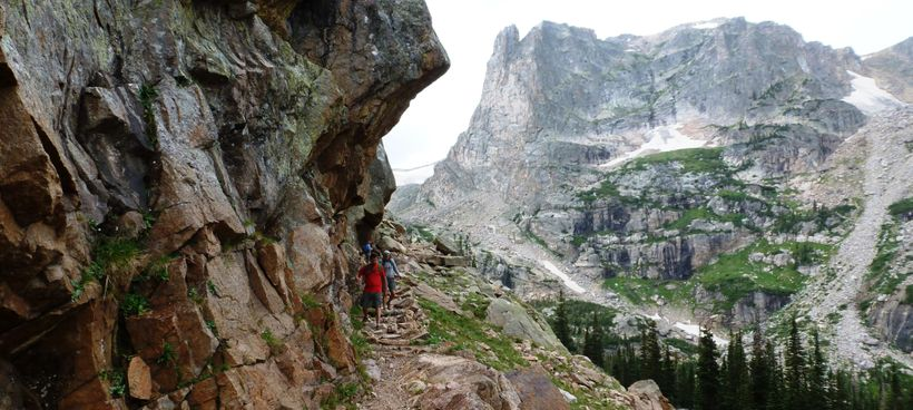 There are hundreds of miles of trails running through Rocky Mountain National Park.