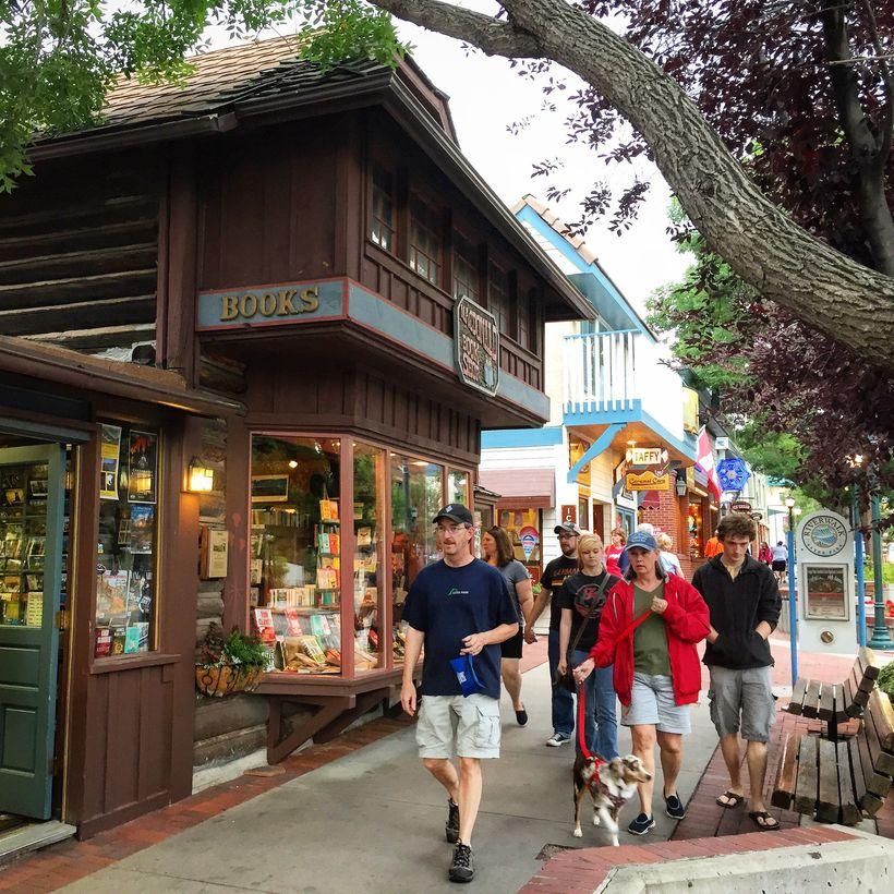 MacDonald's Bookshop in downtown Estes Park.