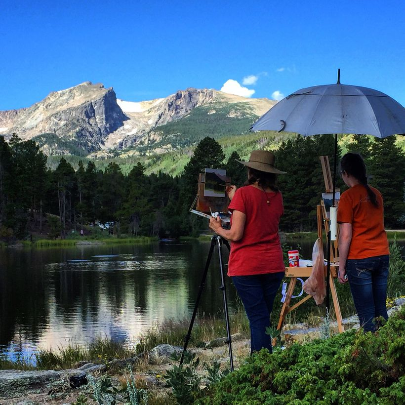 The beauty of Estes Park has inspired countless artists.