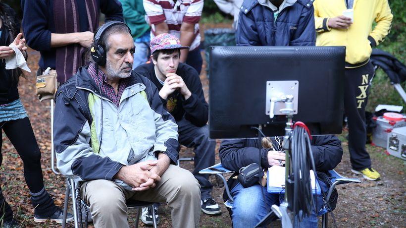 Director Kavi Raz at work