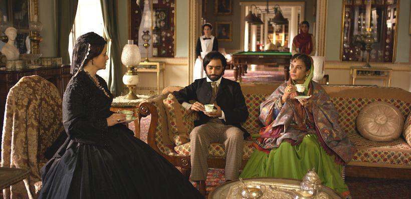 The Black Prince Movie Still - Satinder Sartaj with Shabana Azmi