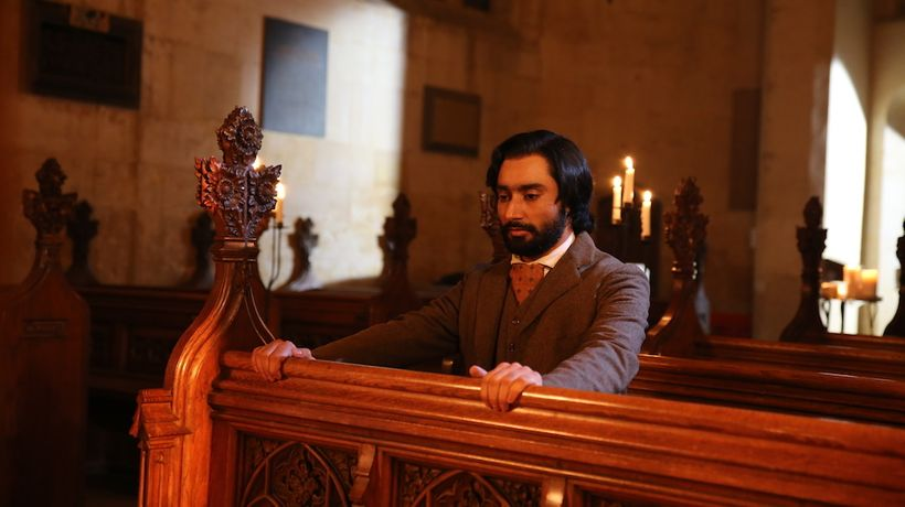 Satinder Sartaj in Church