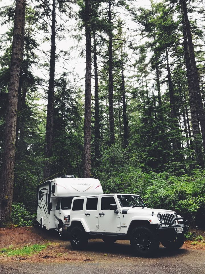Waking up in the woods beats waking up in a concrete jungle