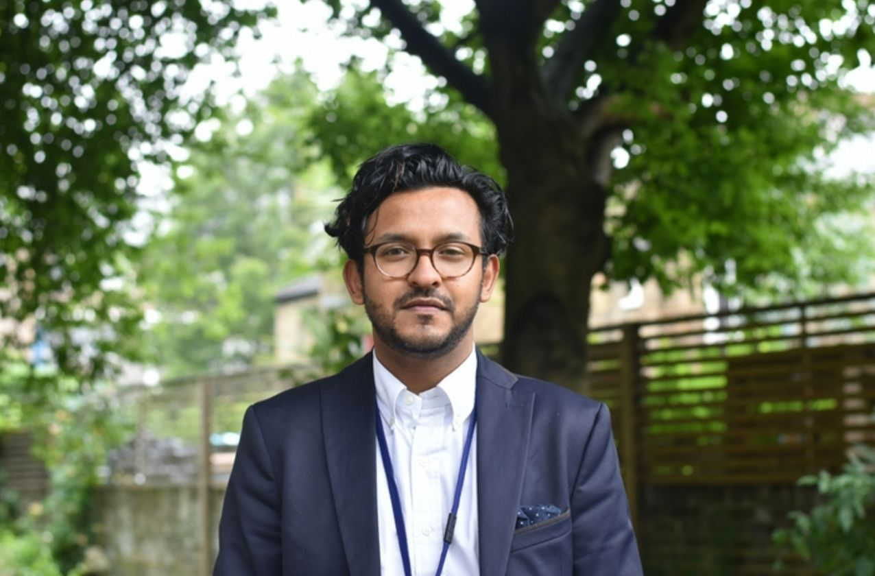 Abraham Chowdhury put his day job on hold to help spearhead the emergency response to the Grenfell Tower
