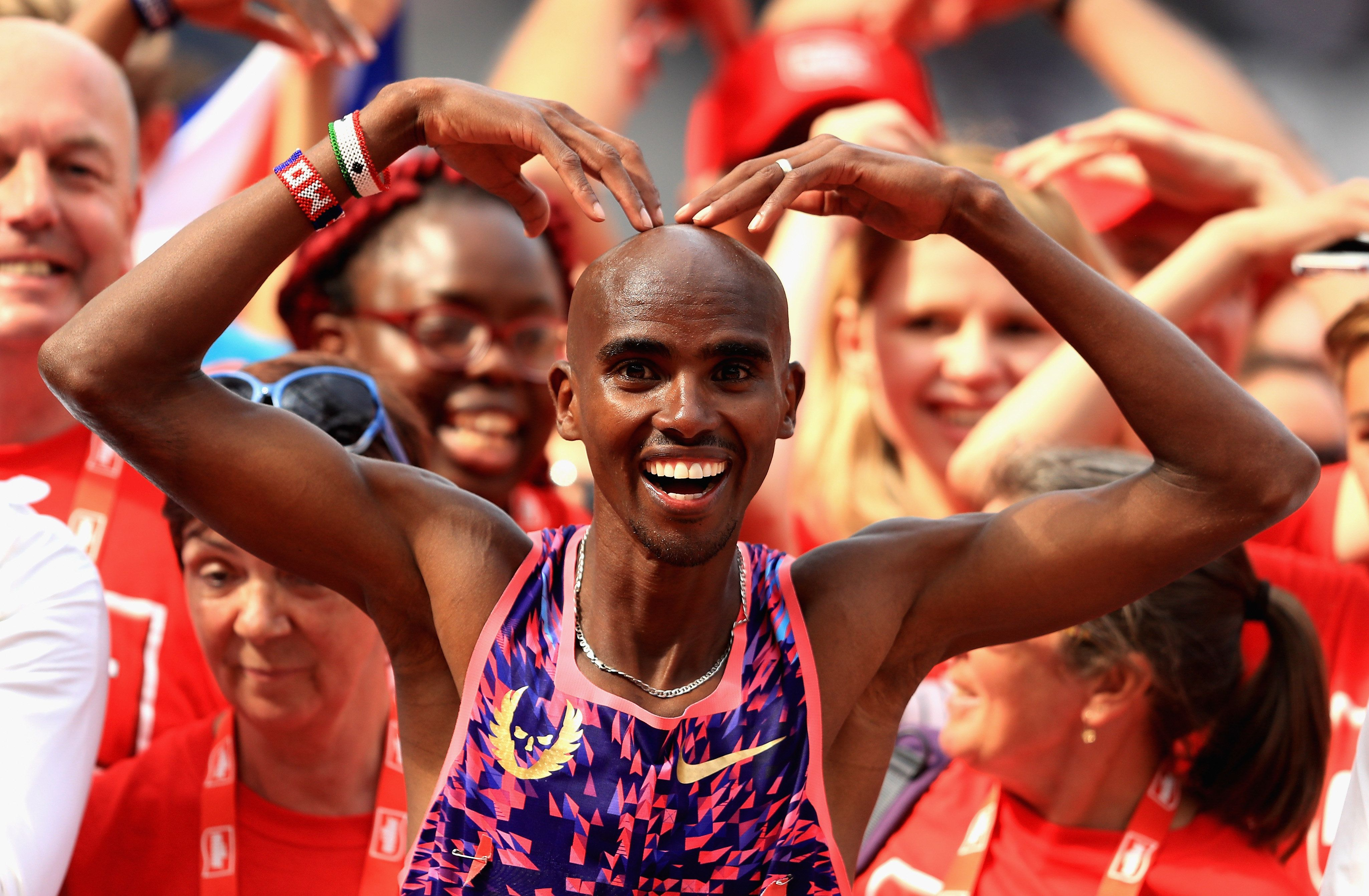 Mo Farah's Liam Gallagher Slip-Up Sparks Hilarious Response On