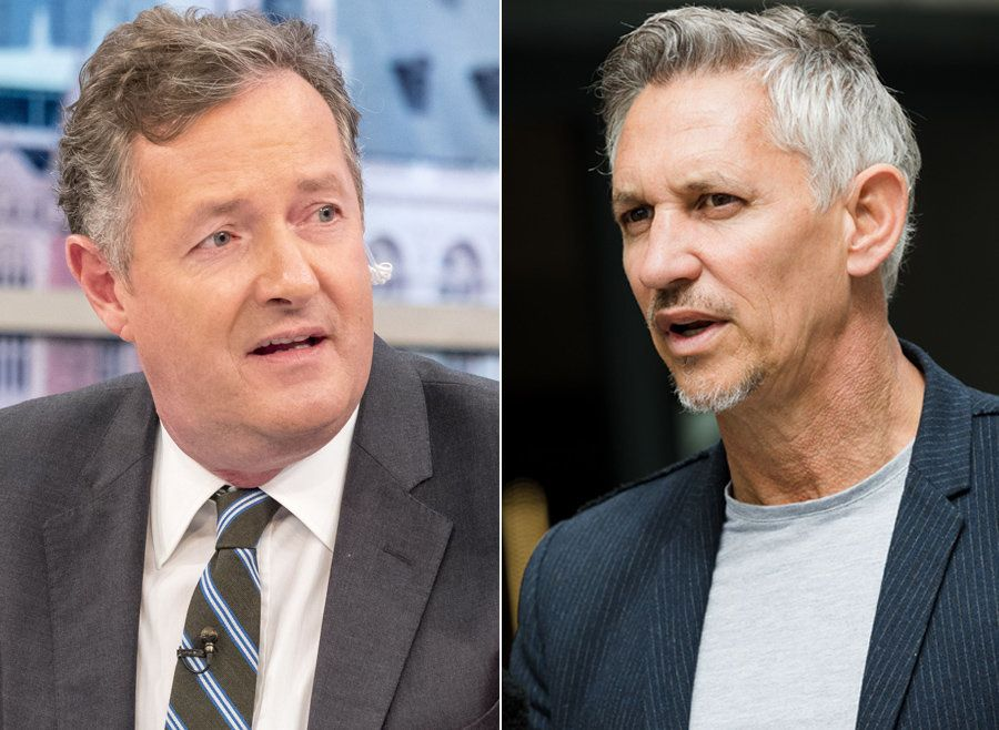 Piers and Gary have clashed on social media a number of