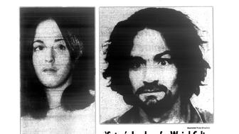Daily News front page December 3, 1969, Headline: LINK 11 MURDER TO TATE KOOKS - 'Satan': Leader of a Weird Cult...Charles Manson, 34, now in custody on the Coast, has been tabbed by California police as the leader of a pseudo-religious group of kooks responsible for 'at least 11 murders' in the state. Manson calls himself 'Satan.' The group is suspected in the Sharon Tate bloodbath of Aug. 8. Susan Atkins is alleged to have been in the Tate house during the killings while under a 'hypnotic spell' cast by Manson. Susan Atkins sits in Santa Monica Supreme Court yesterday after pleading not guilty to one of the 11 murders. She was not charged in the Tate killing. (Photo By: /NY Daily News via Getty Images)