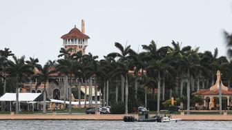 WEST PALM BEACH, FL - APRIL 06: The Mar-a-Lago resort is seen where Chinese President Xi Jinping was scheduled to meet with U.S. President Donald Trump on April 6, 2017 in West Palm Beach, Florida. President Xi is in Florida to meet with President Donald Trump to discuss a range of sensitive issues including trade and North Korea.  (Photo by Joe Raedle/Getty Images)
