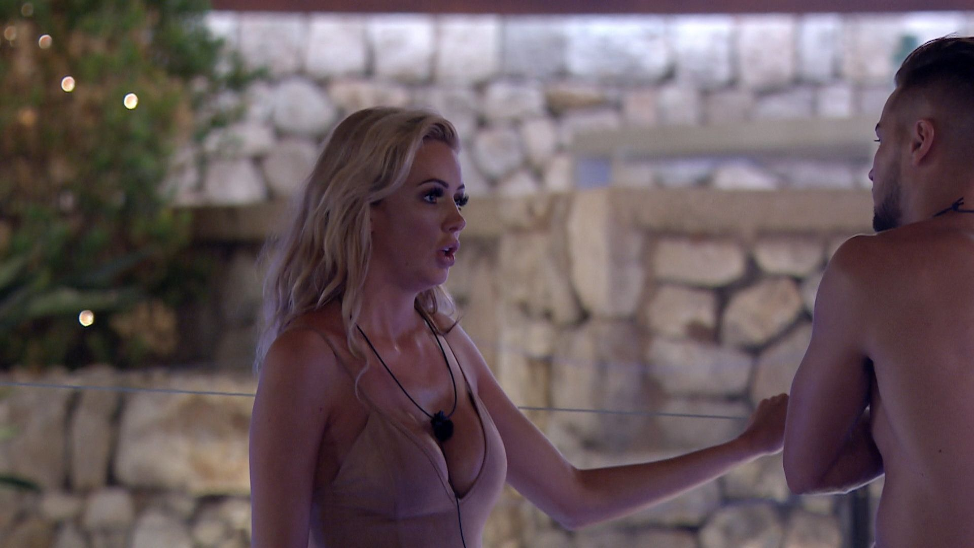 Love Island's Chris Bears The Brunt Of Olivia's Anger As She Loses It Over Latest Public