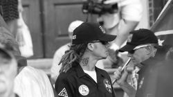 A Klansman With Dreadlocks Showed Up To A KKK Rally Because Hate Makes No