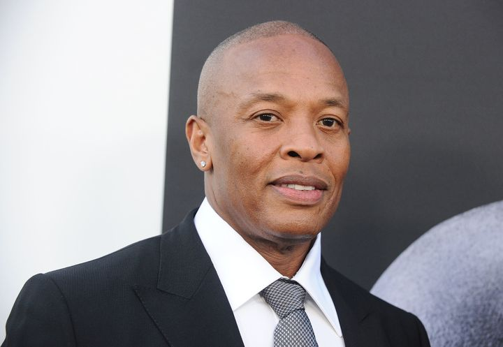 Dr. Dre attends the premiere of 'The Defiant Ones' at Paramount Theatre.