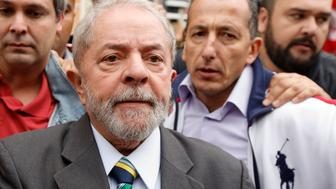 CURITIBA, BRAZIL - MAY 10: Former President of Brazil Lula da Silva arrives at the Federal Court in Curitiba to testify as part of Lava Jato (Car Wash) operation on May 10, 2017 in Curitiba, Brazil. (Photo by Paulo Lisboa/Brazil Photo Press/LatinContent/Getty Images)