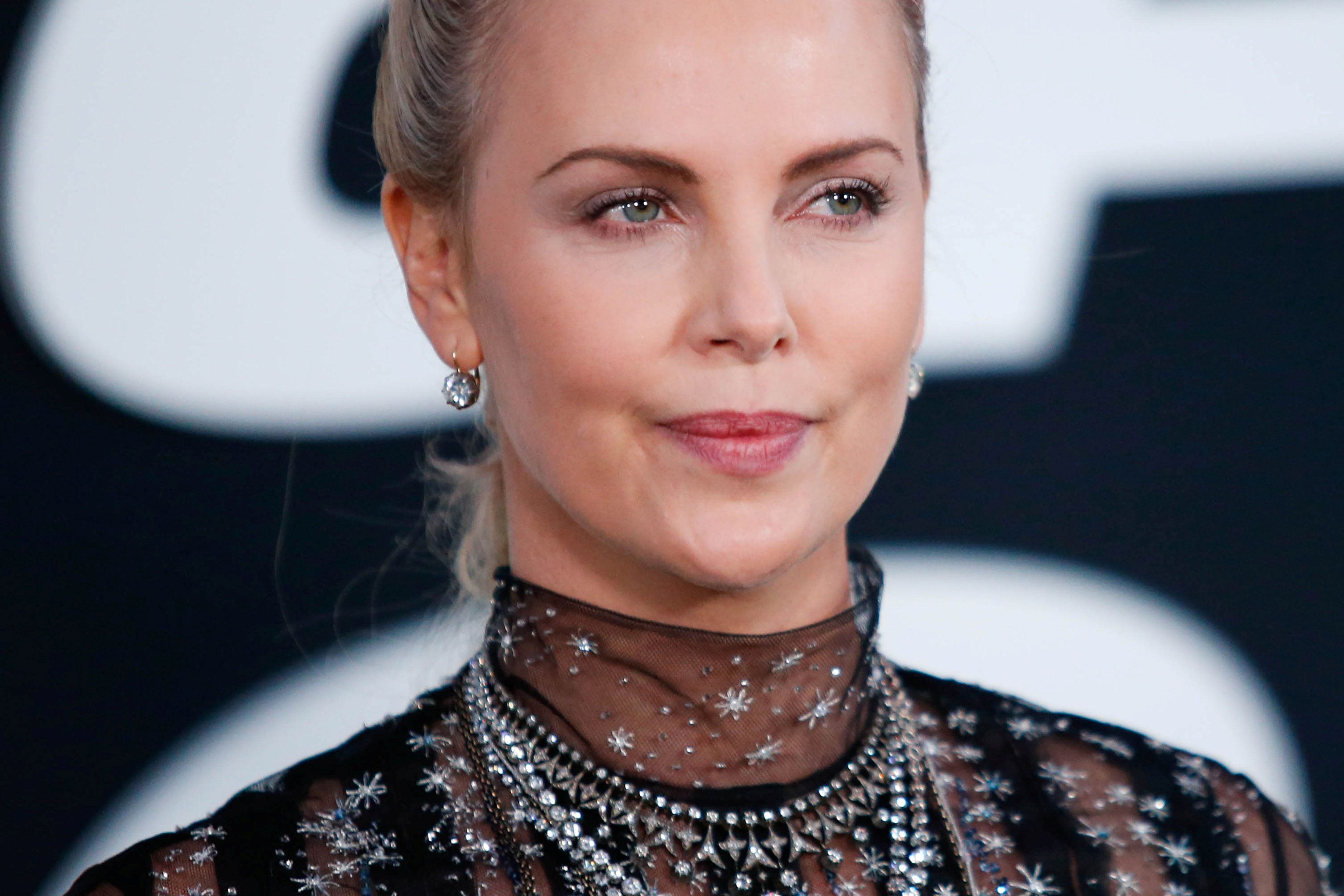 Actress Charlize Theron attends 'The Fate Of The Furious' New York premiere at Radio City Music Hall in New York, U.S. April 8, 2017. REUTERS/Eduardo Munoz