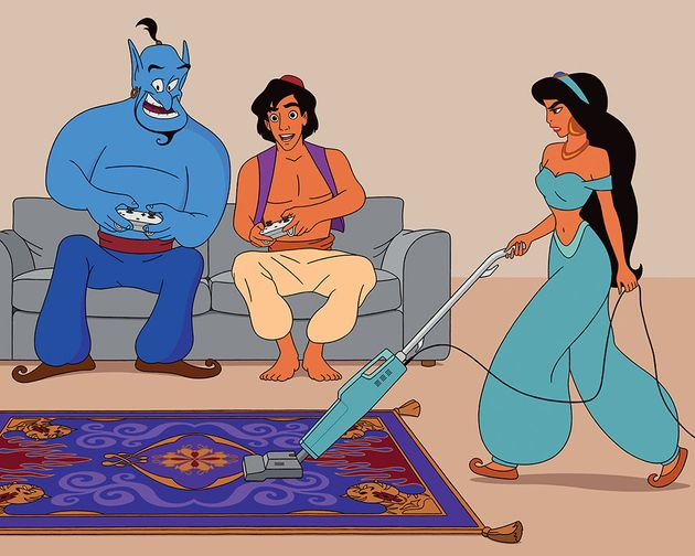 Artist Gives Classic Disney Characters A Modern And Honest