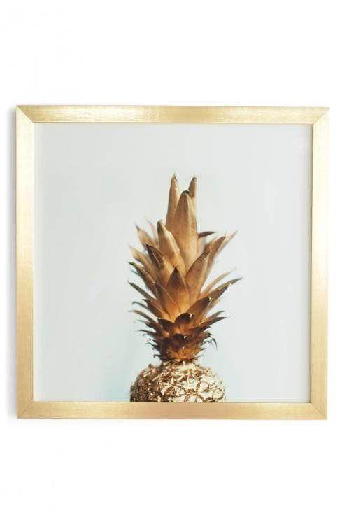 "<a href=""http://shop.nordstrom.com/s/deny-designs-the-gold-pineapple-framed-wall-art/4576806?origin=keywordsearch-personalize"