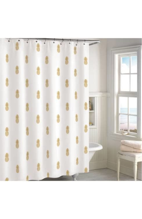"<a href=""http://shop.nordstrom.com/s/destinations-golden-pineapple-shower-curtain/4586137?origin=keywordsearch-personalizedso"
