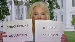 Kellyanne Conway Proves She Can Rhyme And Spin At The Same