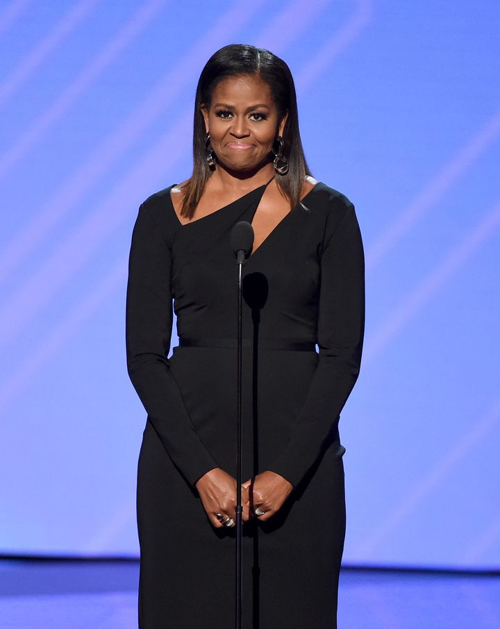 Michelle Obama Knocks It Out Of The Park At The ESPYs – HuffPost