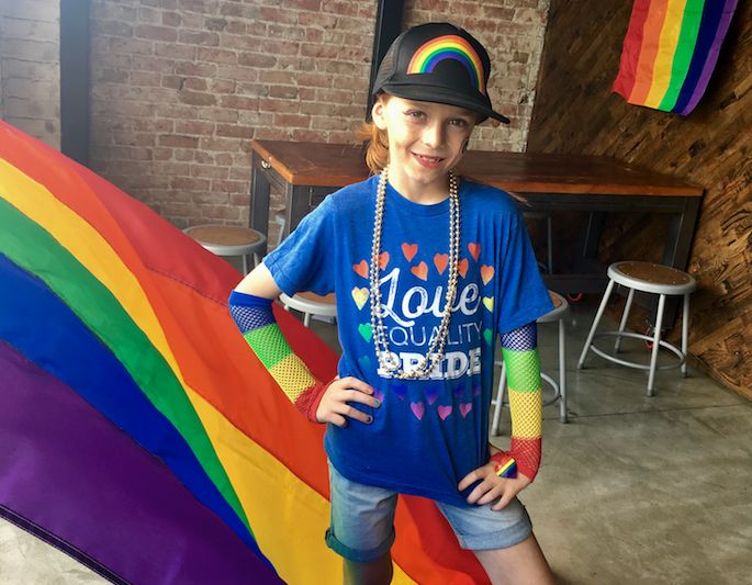 C.J. Duron has identified as gender nonconforming since he was five-years-old.