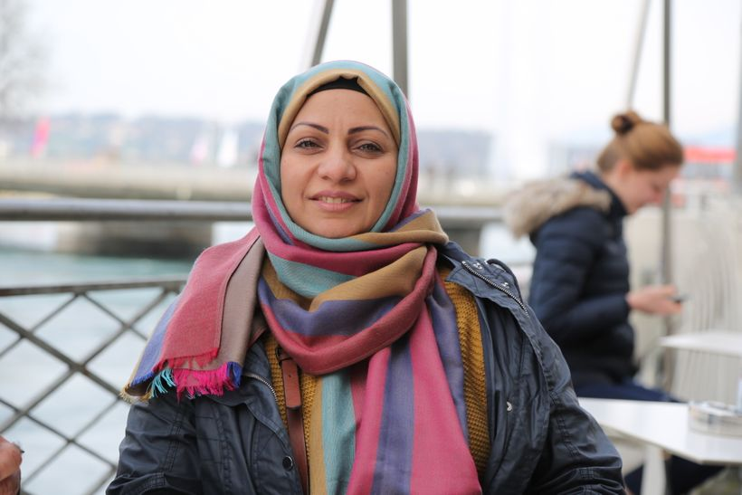 Bahrain Human Rights Defender Ebtisam al Saegh, who has been in custody for 10 days.