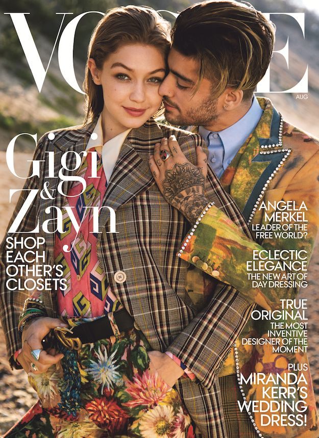 Vogue Apologises After Being Criticised For Calling Gigi Hadid And Zayn Malik Cover Story 'Gender
