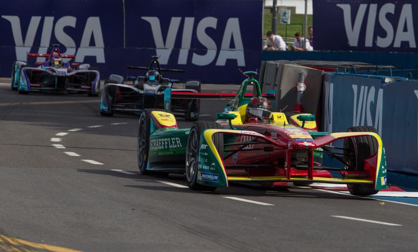 Visa, Inc. partners with Formula E July 15 - 16, 2017 to celebrate the future of innovation