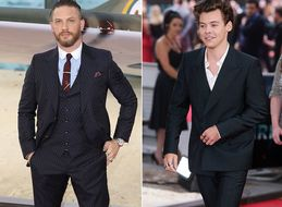 Harry Styles And Tom Hardy On The Same Red Carpet Is Something We're 100% Here For