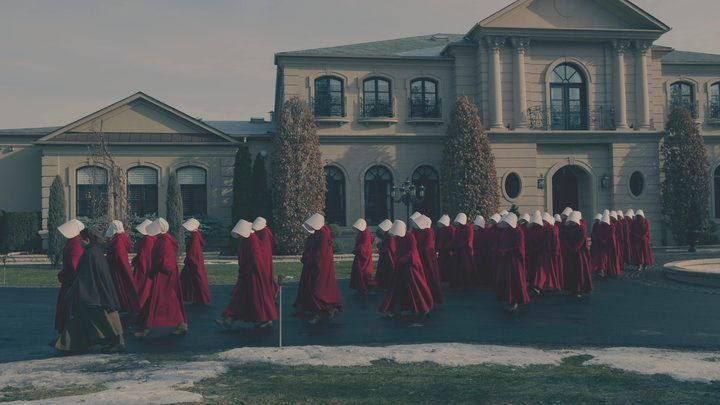 "A still from Hulu's ""The Handmaid's Tale."""