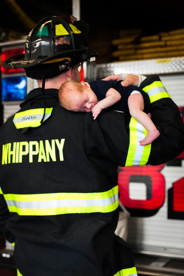 """""""Henry and Hudson will have a heart to serve and protect people, because those values are being instilled in them,"""" said the photographer."""