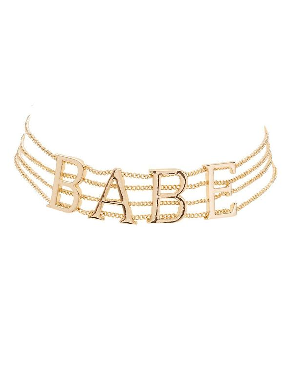 """Get the <a href=""""http://www.charlotterusse.com/plus-size-babe-multistrand-choker-necklace/302384359.html"""" target=""""_blank"""">plu"""