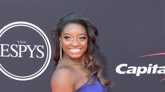 LOS ANGELES, CA - JULY 12:  Olympic gymnast Simone Biles attends The 2017 ESPYS at Microsoft Theater on July 12, 2017 in Los Angeles, California.  (Photo by Matt Winkelmeyer/Getty Images)