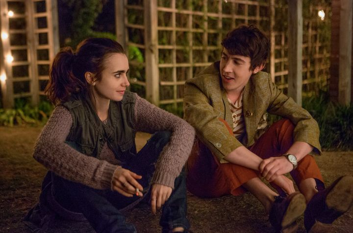"Alex Sharp plays Luke, who befriends Lily Collins' Ellen in ""To the Bone."""